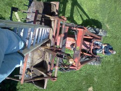Fixing a yard light that burnt out at Uncle Dean's farm (Summer 2011)