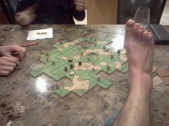 Carcassone gameboard (handmade)