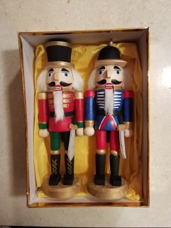 Pair of Nutcracker's painted for my brother-in-law Jesse here in TN