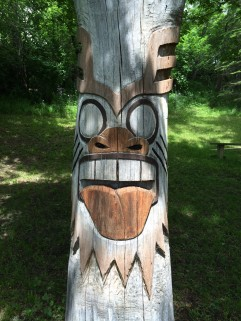 Tribal Totem (stained)